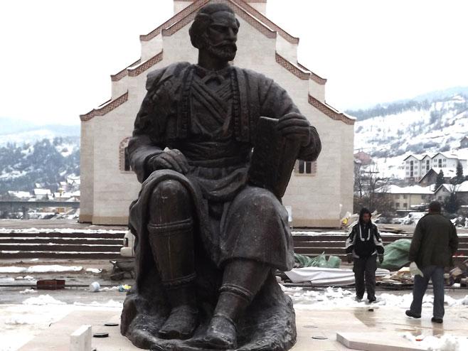 Njegoš u Andrićgradu
