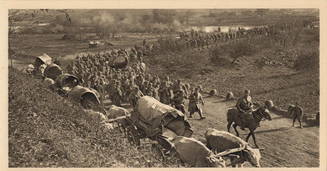 povlacenje srppske vojske