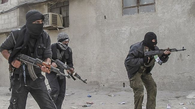 sirijski teroristi