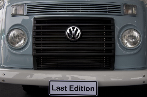 BRAZIL-GERMANY-AUTO-VW-KOMBI
