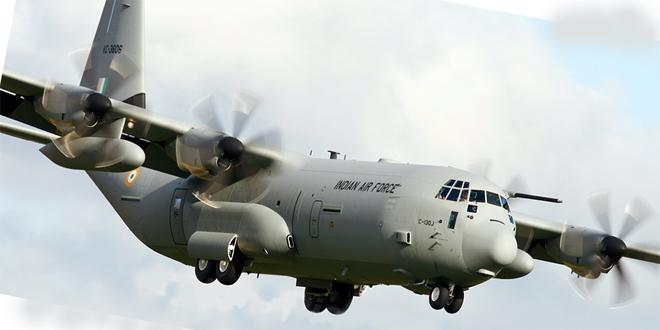 herkules indijski avion 660x330 Скандалозно: Црна Гора тајно наоружавала украјинску војску