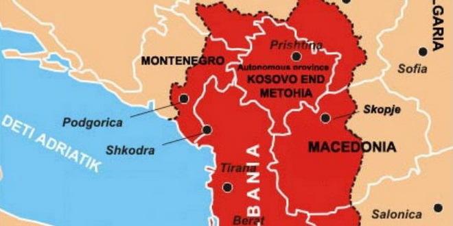 Na Korak Od Velike Albaniјe Albaniјa I Tzv Kosovo Ukidaјu