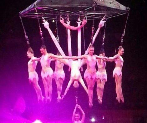 разминающиеся цирковые акробатки видео вам