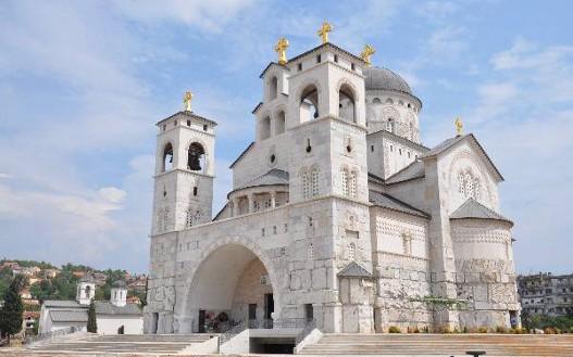 podgorica saborni hram hristovog vaskrsenja 1 Алексић: Нема спајања канонске Цркве и једне НВО