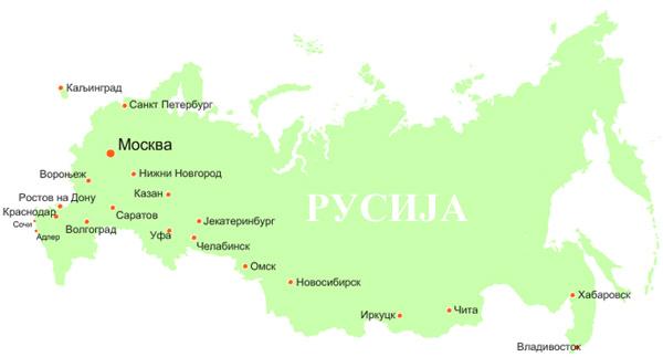 Rusija Karta 3 In4s