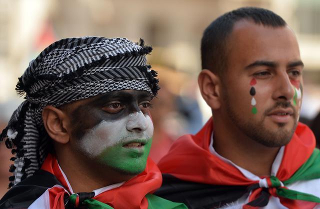 Britain Gaza Protest