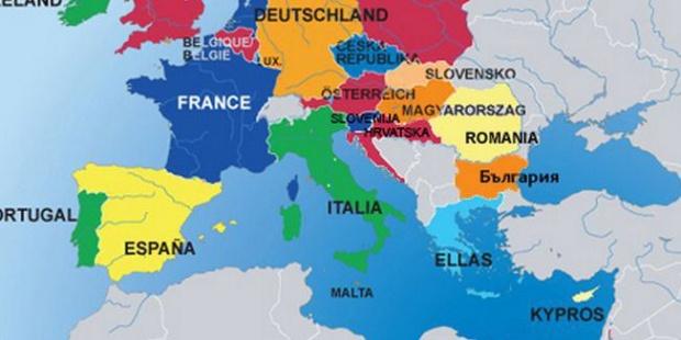 Mapa Juzne Evrope Superjoden