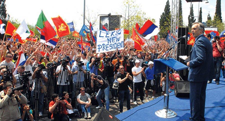 Lekic protest