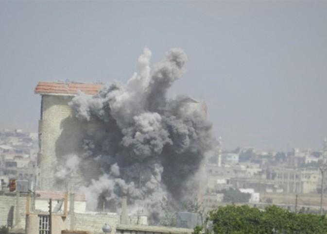 Sirija Homs bombardovanje