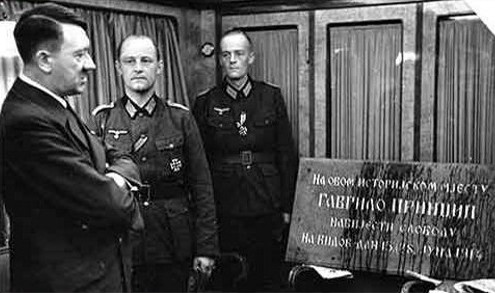 Spomen-ploca-Hitler - Gavrilo Princip