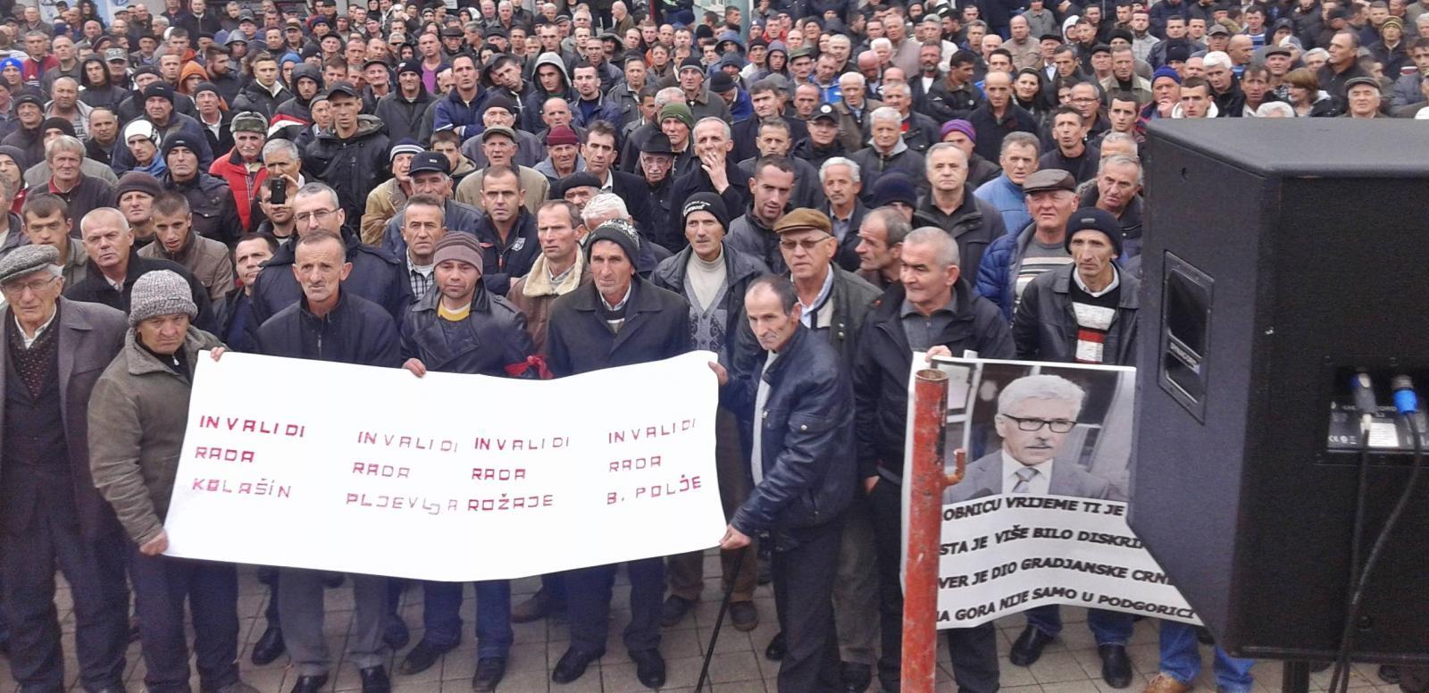 radnici protest sjever Први мај у Црној Гори: Празник јада и сиромаштва