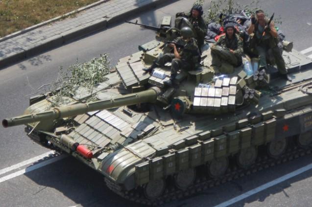 ukrajina, rusija, donjeck, tenk