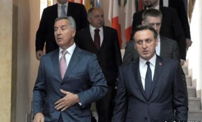 Milo Djukanovic i Ranko Krivokapic