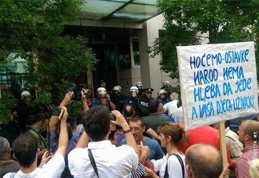 Protest-Podgorica