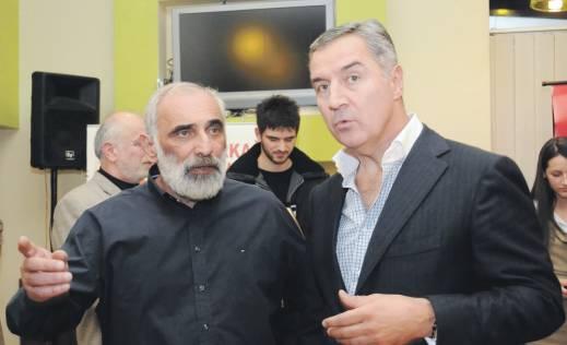 Vesko Barovic i Milo Djukanovic Шефови ДПС а актери међународних корупционашких афера