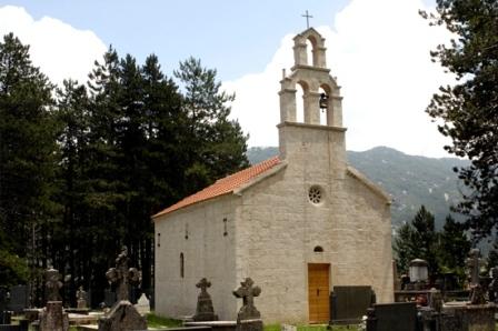 Crkva Sv. Save Njegusi Маркуш за ИН4С: Свети Сава се вјековима славио у Црној Гори