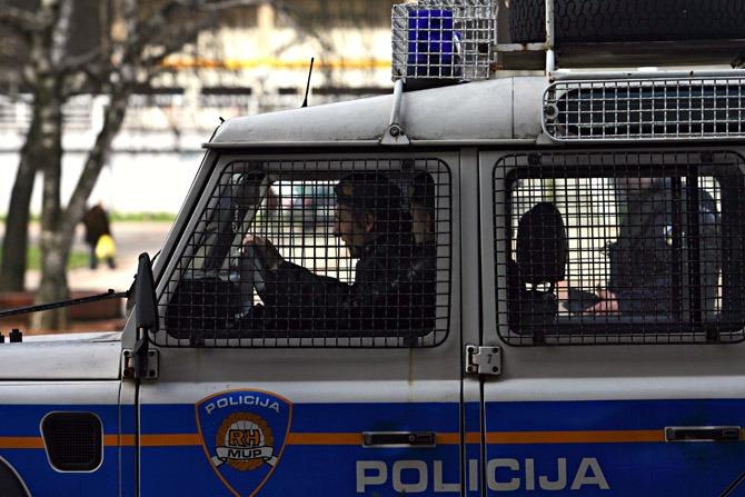 Hrvatska-policija
