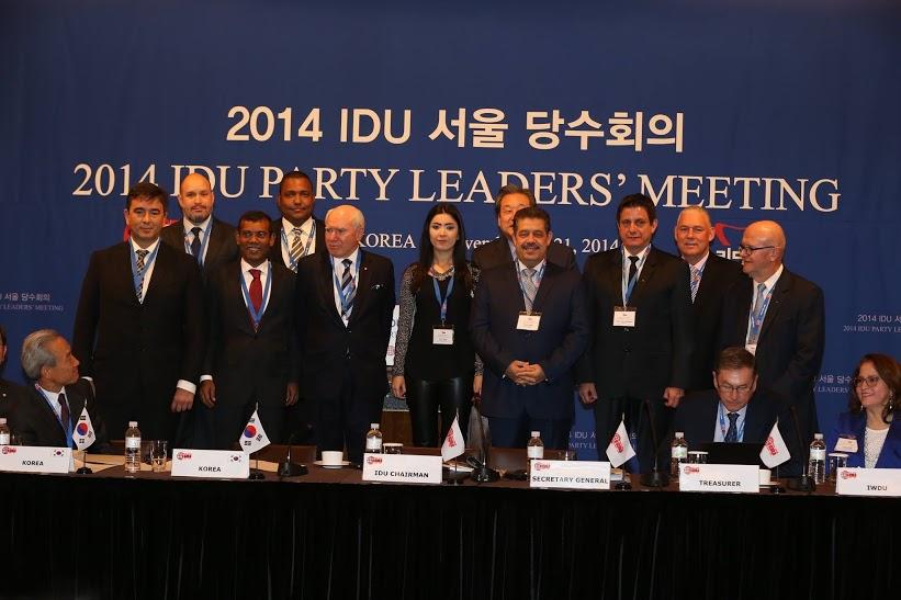 IDU meeting Seul