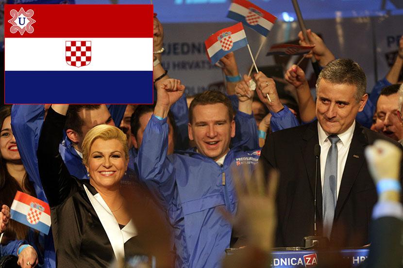 Kolinda-Grabar-Kitarovic-ustaska-zastava