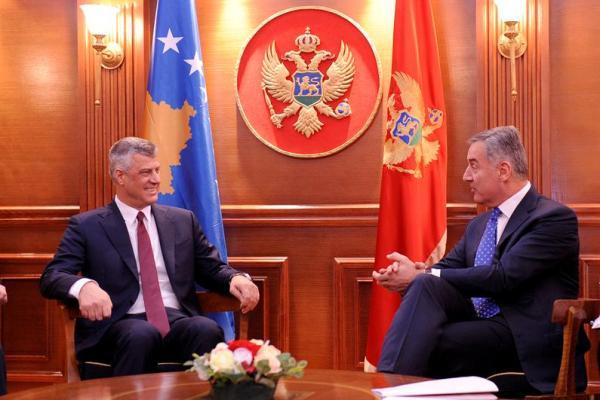 Milo Djukanovic Hasim Taci Ковачевић: НАТО и симболичка смрт Црне Горе