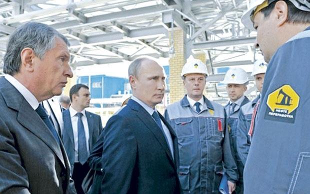 Putin sa naftašima