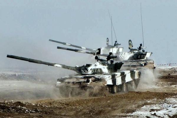 Ukrajina-Donjeck-tenkovi