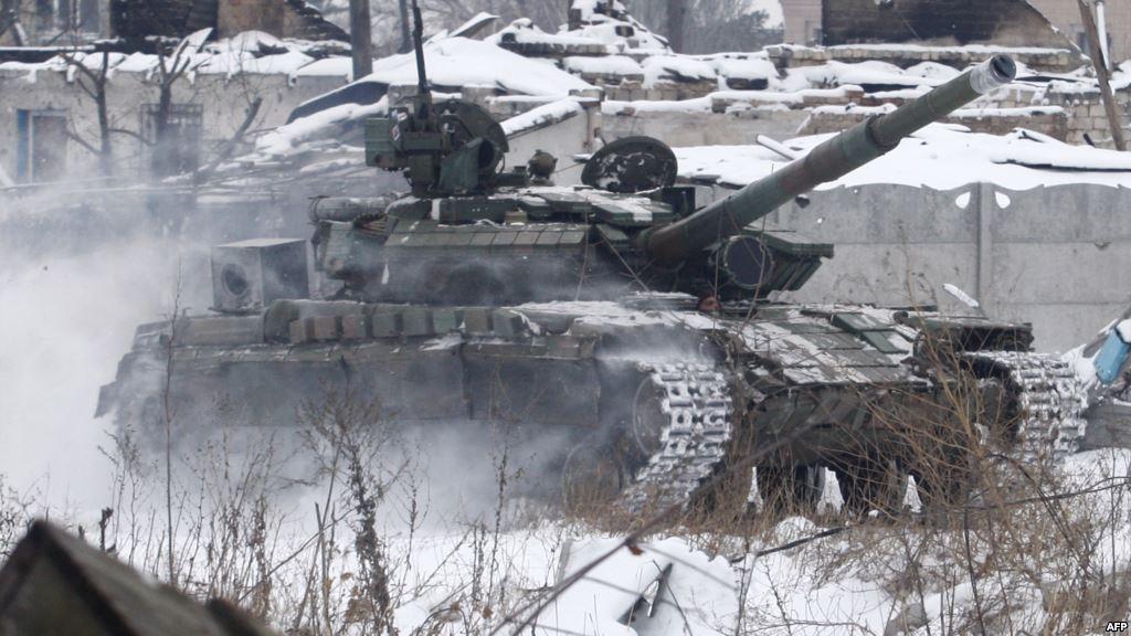 Ukrajina.-tenk-Donjeck