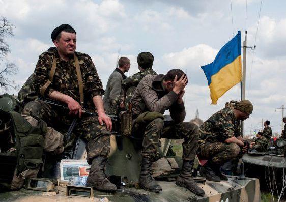 Ukrajinski vojnici-poraz