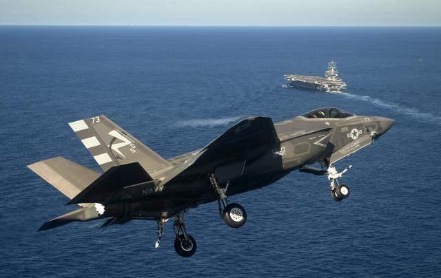 F-35C Carrier Landing