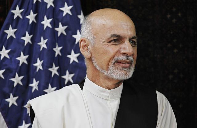 John Kerry, Ashraf Ghani Ahmadzai