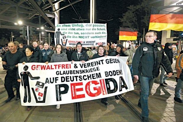 njemacka protest