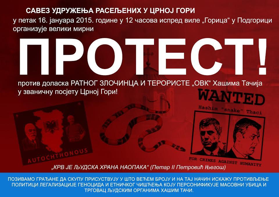 plakat protest