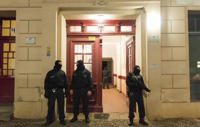 Germany Terrorism Raids
