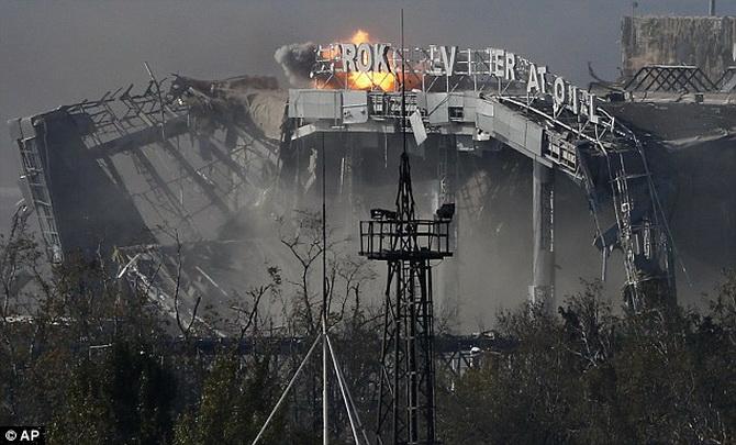 ukrajina aerodrom donbas