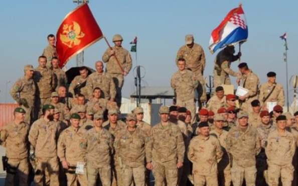 Avganistan-Vojska Crne Gore-Hrvati