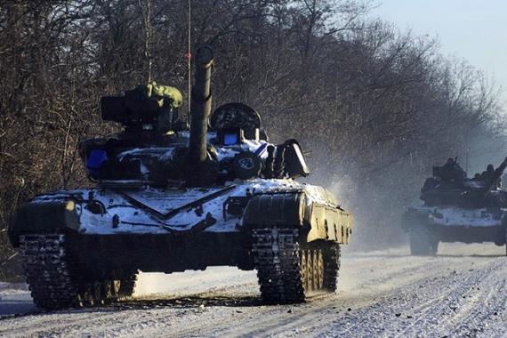 Ukrajina-Donjeck-tenkovi 05
