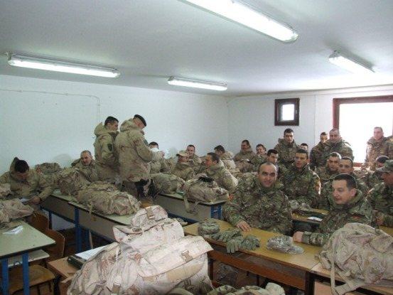 cg vojska 2 За рат спремни: Хрвати обучавали Црногорце за мисију у Авганистану