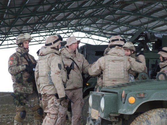 cg vojska За рат спремни: Хрвати обучавали Црногорце за мисију у Авганистану