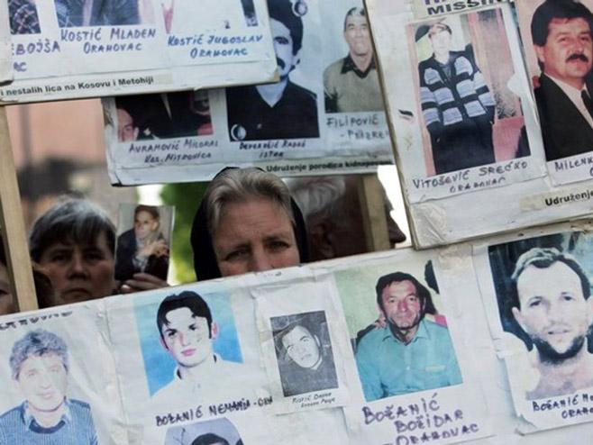 Kidnapovani na KiM 1 Удружење породица са КиМ: Неизвјесна судбина 525 отетих