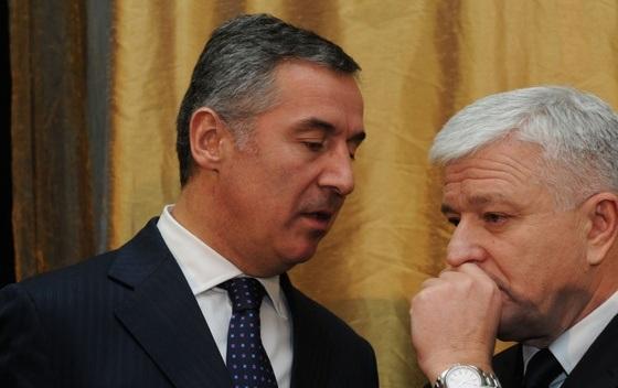 Milo Djukanovic Dusko Markovic Са Владом пада и НАТО
