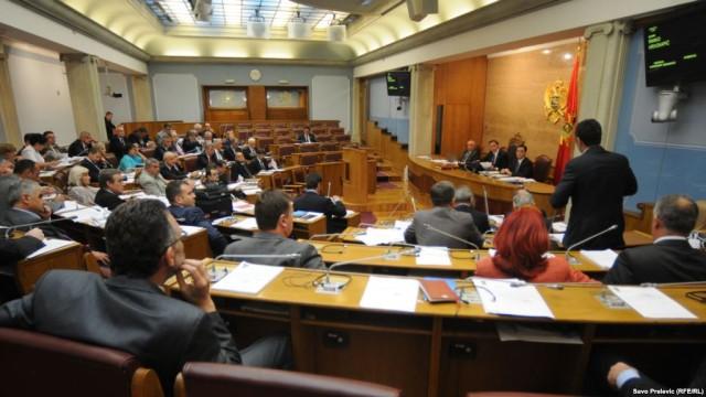 crnogorki parlament