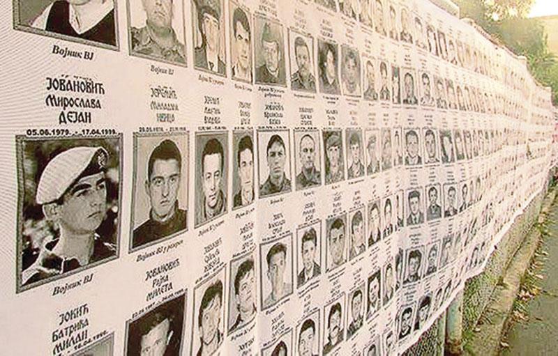 kidnapovani KiM 21 Удружење породица са КиМ: Неизвјесна судбина 525 отетих