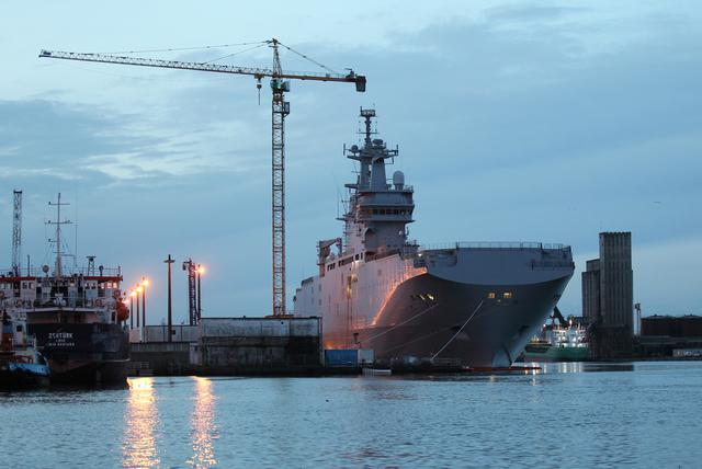 France Russian Warship