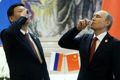 Russian President Vladimir Putin Visit In China