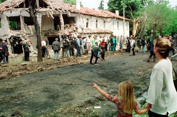 Bolnica Dragisa Misovic-NATO bombadrovanje
