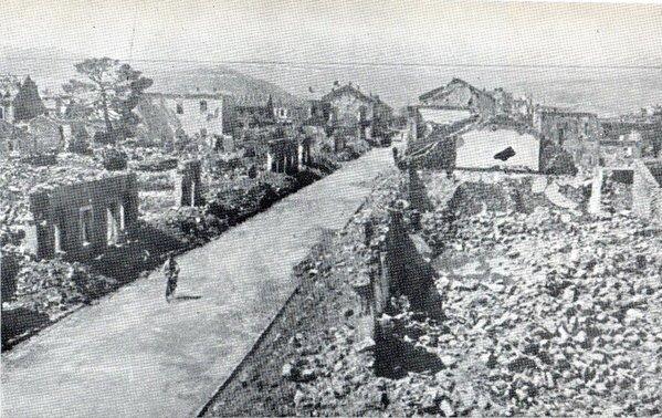"""Bombardovanje Podgorice 1944. 02 Дан кад су """"савезнички"""" авиони сравнили Подгорицу са земљом"""