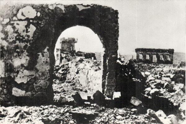 """Bombardovanje Podgorice 1945. 01 Дан кад су """"савезнички"""" авиони сравнили Подгорицу са земљом"""