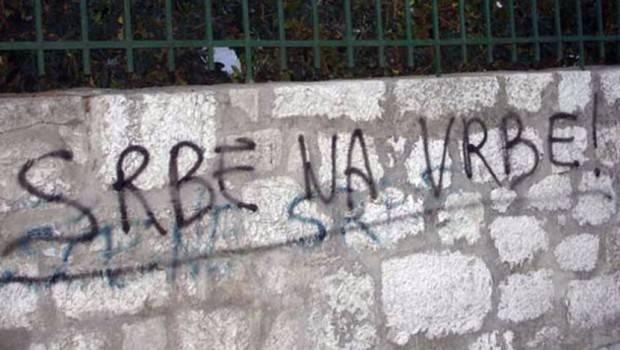 Grafit Srbe na vrbe 670x456 620x350 Насиље над нашим људима у Хрватској расте вртоглавом брзином
