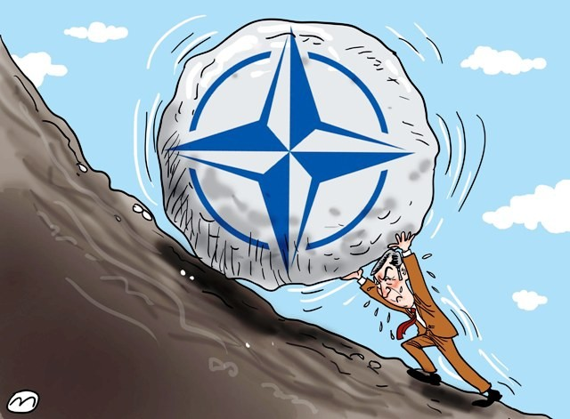 NATO karikatura