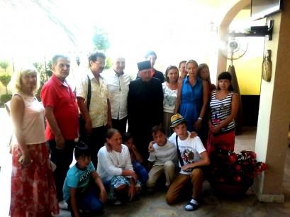 Celnici Nove sa gostima iz Rusije
